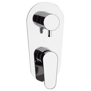 Class Line Built-In Bath Mixer, 3 Outlets