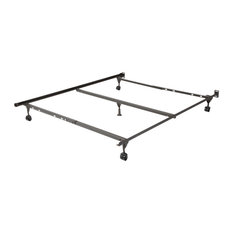Insta-Lock Bed Frame With Wheels for Queen Beds