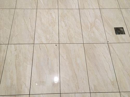 Basement Bathroom Floor Porcelain Tile - Tiling an uneven basement floor