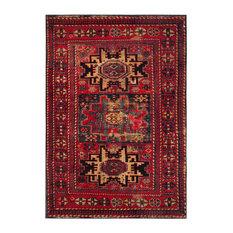 Safavieh Vintage Hamadan Rug, Red/Multi, 8' X 10'