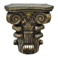 Decorative Bronze Resin Pedestal