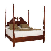 American Drew Cherry Grove Pediment Poster Bed, King