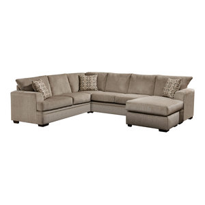 Robbins Sectional Transitional Sectional Sofas By