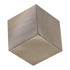 Tumbling Block Wall Cube, Stainless Steel