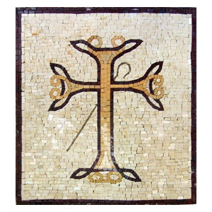 Cross Marble Mosaic, 24