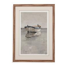 Boat on the Horizon II, Natural Wood