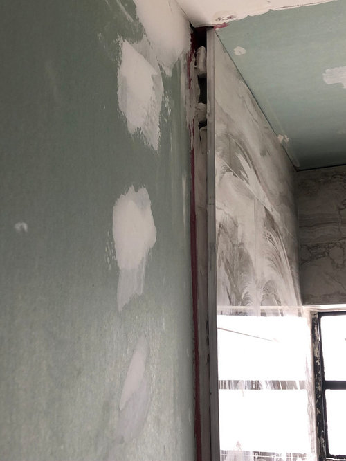 Gaps Between Tile And Wall