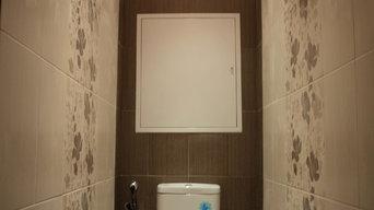 Ремонт ванной комнаты и санузла в Лобне