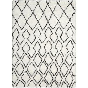 Calvin Klein Riad Rug, Ivory/Charcoal, 274x366 cm