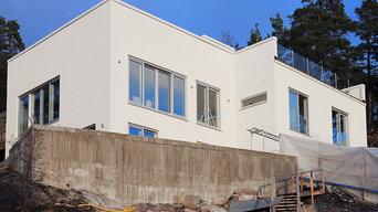 Villa i Margretelund, Åkersberga