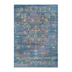 Tatum Area Rug, Blue and Multicolour, 120x180 cm