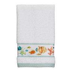 Rainbow Fish Fingertip Towel