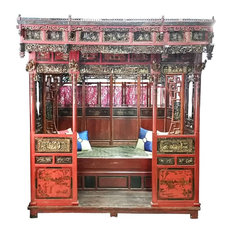 Chinese Wedding Bed Antique Qing Dynasty