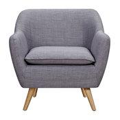 Grey Luxe Armchair