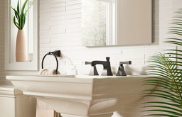 Kohler Memoirs Stately Widespread Bathroom Faucet, Oil-Rubbed Bronze