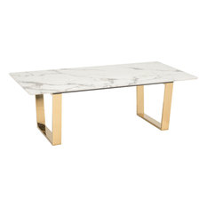 stainless steel coffee tables | houzz