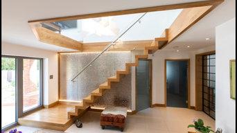 solid oak zigzag with platform