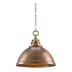 Currey & Co 9857 Admiral Copper Pendant