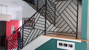 Custom Stair Rail Interior