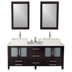 Contemporary Bathroom Vanities And Sink Consoles by KOKOLS