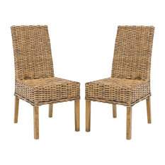 Safavieh   Sanibel 18u0027u0027H Rattan Side Chair (Set Of 2)