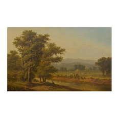 Consigned Hudson River Valley Oil Landscape Painting