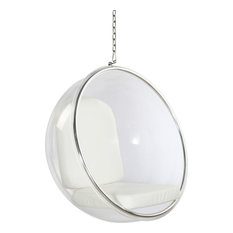 Classics Kids Bubble Chair, White by FM Imports