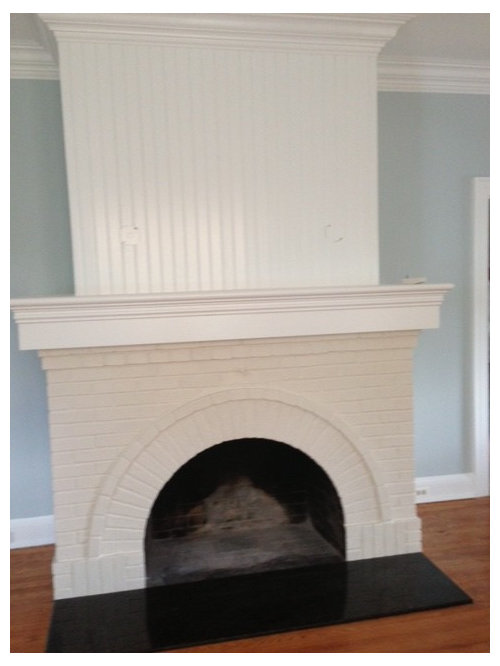 Fireplace Screen Shape For Rounded Fireplace Opening