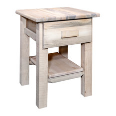 Montana Woodworks Homestead Nightstand With Drawer In Ready To Finish