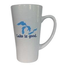 Lake is good - Lake is Good Latte Mug - Mugs  sc 1 st  Houzz & Vacation Lake House Dinnerware   Houzz