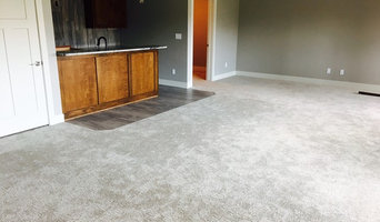 Basement Bar and carpet