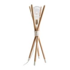 Nuus Table Lamp, White, Large