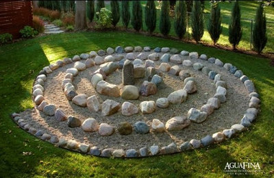 modern landscape by daryl toby aguafina gardens international - Home Zen Garden