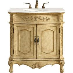 Victorian Bathroom Vanities And Sink Consoles by 1STOPlighting
