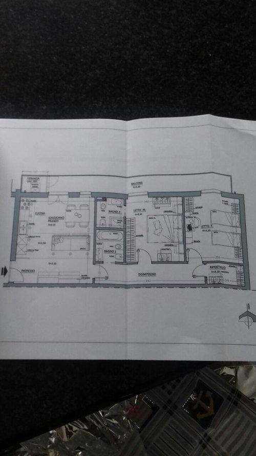 ambiente 25 mq cucina soggiorno