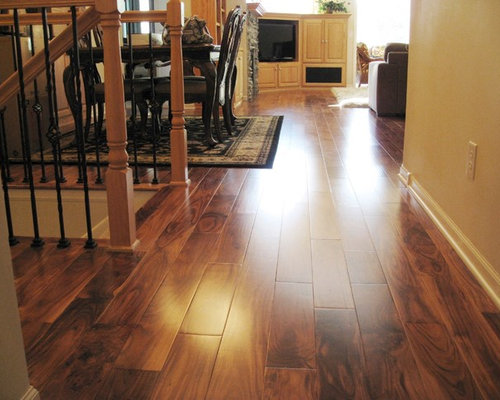 Traditional home design idea in Minneapolis. Save Photo. Unique Wood Floors - Acacia Wood Floor Houzz