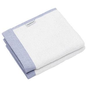 Pura 2-Piece Baby Towel Set, Blue