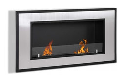 Bellezza Recessed or Wall Mount Bio Ethanol Fireplace