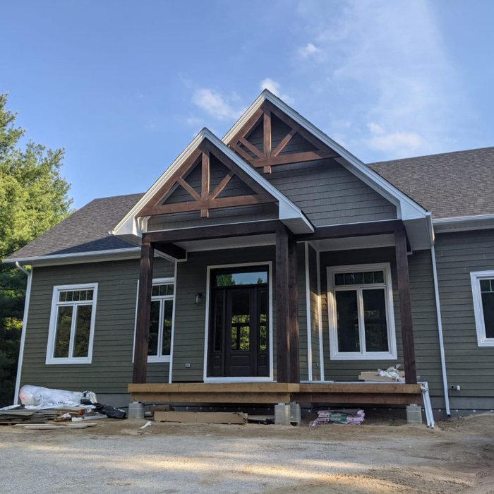 Home design - modern home design idea in Other