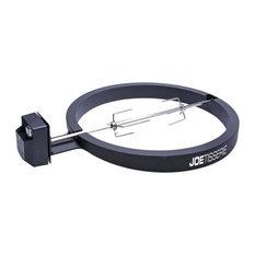 "Kamado Joe KJ-Tisseriena Powder Coated Aluminum Rotisserie Kit, Black, 18"""