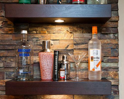wall treatments home bar design ideas