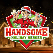 Handsome Holiday Heroes's photo