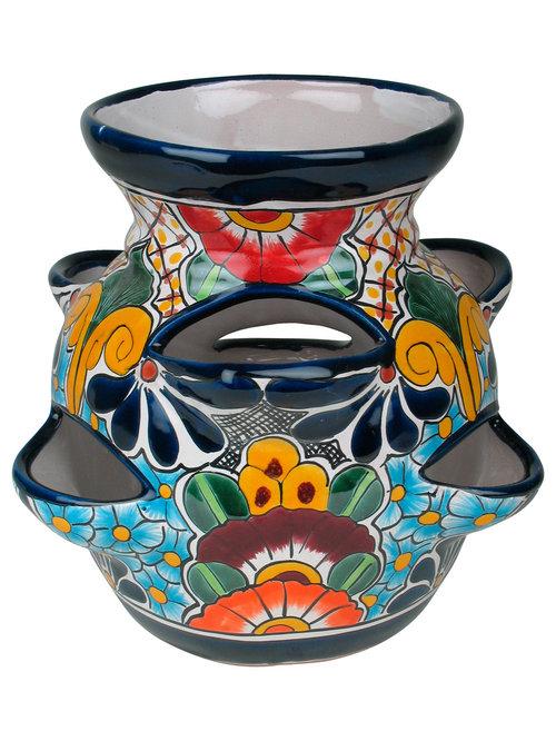 Talavera Strawberry Planter Pot   Outdoor Pots And Planters