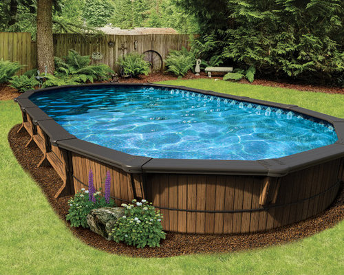 Piscine Ovale Semi Creus E Oval Semi In Ground Pool