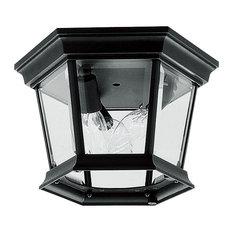 Hamilton Outdoor Ceiling Mount, Black