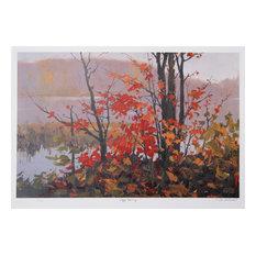 """Foggy Morning"" Artwork"
