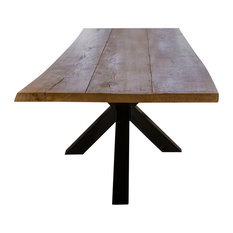 Aix Live Edge Dining Table, 100x200 Cm