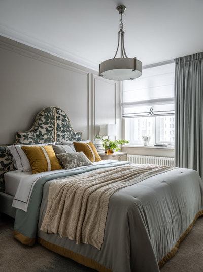 Неоклассика Спальня by Posh Interiors