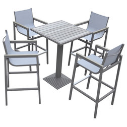 Contemporary Outdoor Pub And Bistro Sets by Armen Living