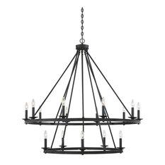 Middleton 15 Light Chandelier in Classic Bronze
